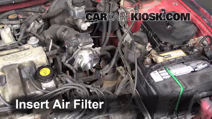 Ford Probe L Cyl Fair Filter Engine Part