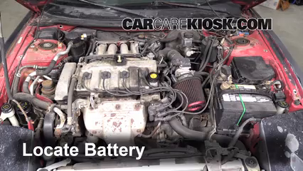 Battery Replacement 1993 1997 Ford Probe