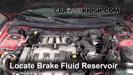 1994 Ford Probe 2.0L 4 Cyl. Brake Fluid