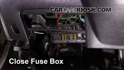 interior fuse box location: 1993-1997 honda civic del sol - 1994 honda civic  del sol s 1 5l 4 cyl