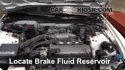 1994 Honda Civic del Sol S 1.5L 4 Cyl. Brake Fluid