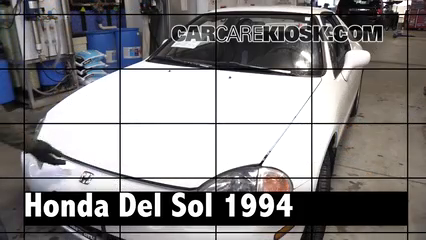1994 Honda Civic del Sol S 1.5L 4 Cyl. Review