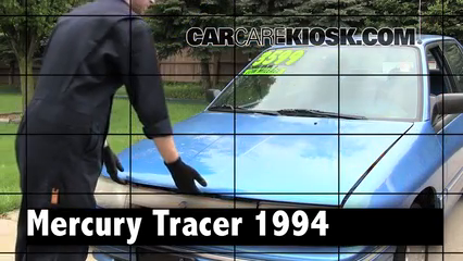 1994 Mercury Tracer 1.9L 4 Cyl. Sedan Review