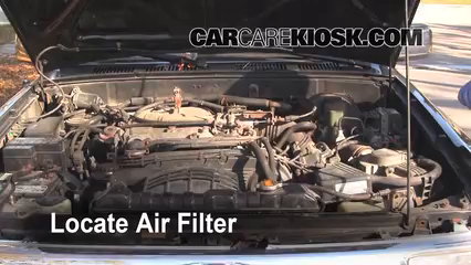 1994 Toyota 4Runner SR5 3.0L V6%2FAir Filter Engine Part 1 air filter how to 1990 1995 toyota 4runner 1994 toyota 4runner 2002 Toyota Camry Engine Diagram at aneh.co