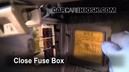 Interior Fuse Box Location 1990 1995 Toyota 4Runner