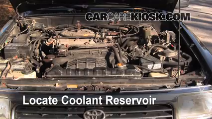 1994 Toyota 4Runner SR5 3.0L V6 Coolant (Antifreeze) Add Coolant