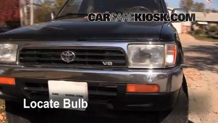 1994 toyota 4runner sr5 3 0l v6 lights parking light (replace bulb)