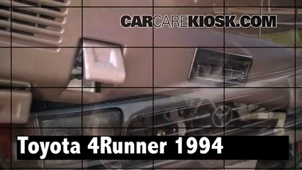 1994 Toyota 4Runner SR5 3.0L V6 Review