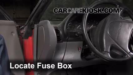 1994 Ford Probe 2.0L 4 Cyl. Fuse (Interior)