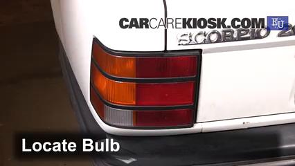 1994 Ford Scorpio GL 2.0L 4 Cyl. Éclairage