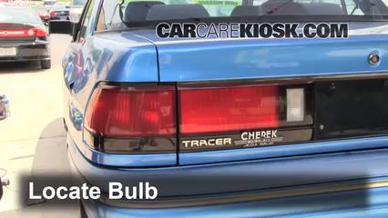 1994 Mercury Tracer 1.9L 4 Cyl. Sedan Lights