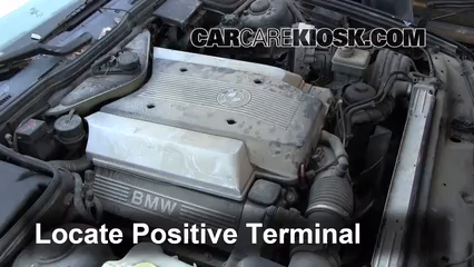 How To Jumpstart A 1990 1995 Bmw 540i 1995 Bmw 540i 40l V8
