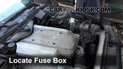 1995 bmw 540i 4 0l v8 fuse (engine) check