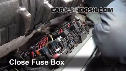 1993 oldsmobile fuse box