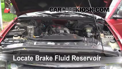 1995 Chevrolet Blazer LT 4.3L V6 (4 Door) Brake Fluid