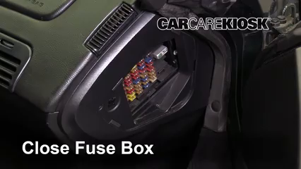 Interior Fuse Box Location: 1990-1996 Chevrolet Corvette - 1995 Chevrolet  Corvette 5.7L V8 HatchbackCarCareKiosk