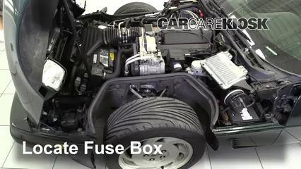 Replace a Fuse: 1990-1996 Chevrolet Corvette - 1995 Chevrolet Corvette 5.7L  V8 HatchbackCarCareKiosk