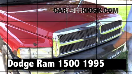 1995 Dodge Ram 1500 5.2L V8 Standard Cab Pickup Review