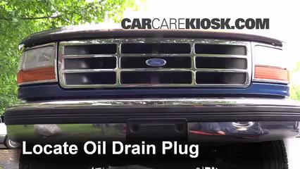 3  find oil drain locate the oil drain plug underneath the vehicle