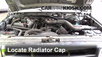 Coolant Flush How To Ford F 250 1990 1997 1995 Ford F 250 Xl