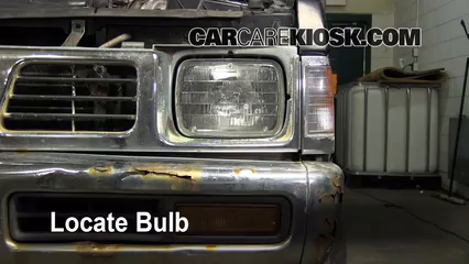 Headlight Change 1986-1997 Nissan Pickup - 1995 Nissan