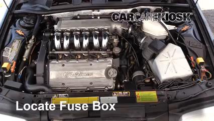 1995 Alfa Romeo 164 Quadrifoglio 3.0L V6 Fusible (moteur)