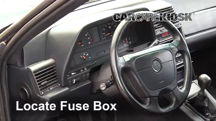 1995 Alfa Romeo 164 Quadrifoglio 3.0L V6 Fusible (intérieur)