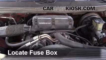1995 Dodge Ram 1500 5.2L V8 Standard Cab Pickup Fusible (motor) Cambio