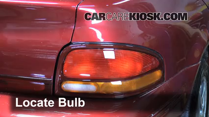1996 Dodge Stratus ES 2.4L 4 Cyl. Lights Tail Light (replace bulb)