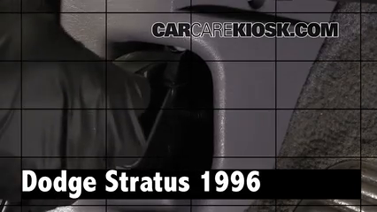 1996 Dodge Stratus ES 2.4L 4 Cyl. Review