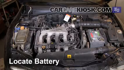 1996 Fiat Bravo SX 1.4L 4 Cyl. Battery Clean Battery & Terminals