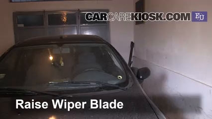 1996 Fiat Bravo SX 1.4L 4 Cyl. Windshield Wiper Blade (Front) Replace Wiper Blades