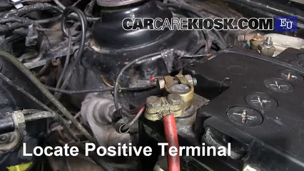 How to Jumpstart a 1989-1996 Ford Fiesta - 1996 Ford Fiesta