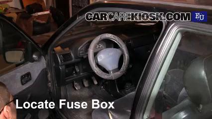 fuse box on a ford fiesta interior fuse box location 1989 1996 ford fiesta 1996 ford  interior fuse box location 1989 1996