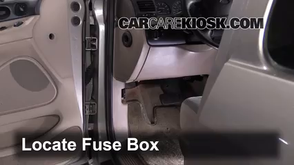 interior fuse box location 1990 1997 ford aerostar 1994 ford rh carcarekiosk com