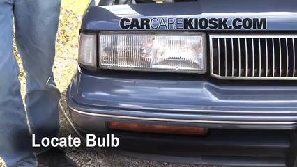 Headlight Change 1990 1997 Oldsmobile Cutlass Supreme 1996 3 1l V6 Coupe 2 Door