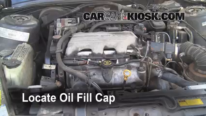 1996 Oldsmobile Cutlass Ciera 3.1L V6 Sedan Oil