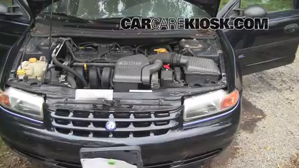 air filter how-to: 1996-2000 plymouth breeze