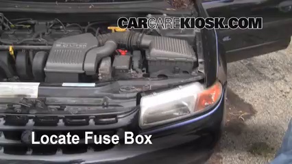 1996 Plymouth Breeze 2.0L 4 Cyl. Fuse (Engine) Replace