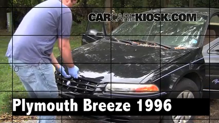 1996 Plymouth Breeze 2.0L 4 Cyl. Review