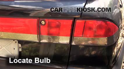 how to change brake light saab 93