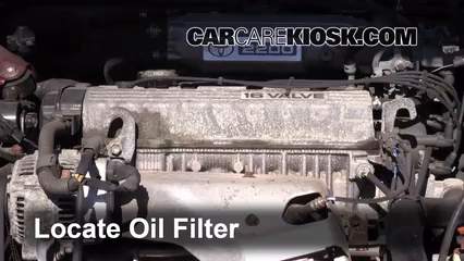 oil \u0026 filter change toyota camry (1992 1996) 1995 toyota camry le 2008 Toyota Camry Fuel Filter Location
