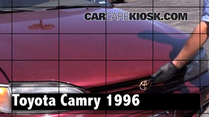 1996 Toyota Camry LE 2.2L 4 Cyl. Sedan (4 Door) Review
