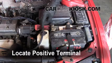 Toyota Corolla Battery >> How To Jumpstart A 1993 1997 Toyota Corolla 1996 Toyota Corolla