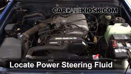 power steering leak fix: 1993-1998 toyota t100 - 1996 toyota t100 sr5 3.4l  v6 extended cab pickup  carcarekiosk