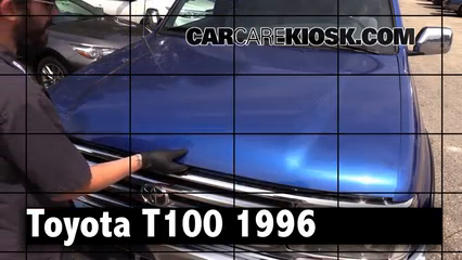 1996 Toyota T100 SR5 3.4L V6 Extended Cab Pickup Review