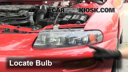 1996 Dodge Avenger ES 2.5L V6 Lights Headlight (replace bulb)