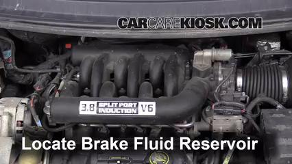 1996 Ford Windstar GL 3.8L V6 Brake Fluid
