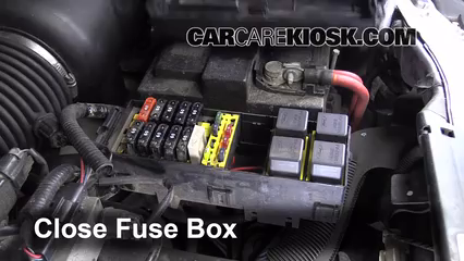 replace a fuse: 1995-1998 ford windstar - 1996 ford windstar gl 3.8l v6  carcarekiosk