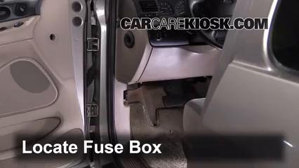 1996 Ford Windstar GL 3.8L V6 Fuse (Interior)